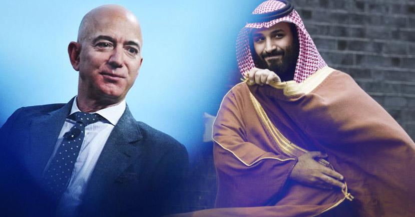 "Amazon CEO ""Jeff Bezo's"" Phone Hacked By Saudi Crown Prince"