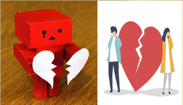 valentines break up