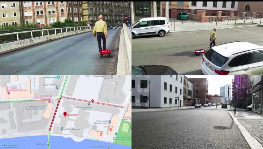 Google Maps Hack: Berlin Artist Causes A Fake Traffic Jam