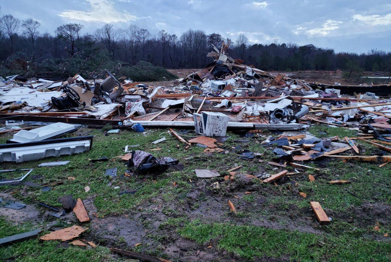 Scenario after hazard in Washington