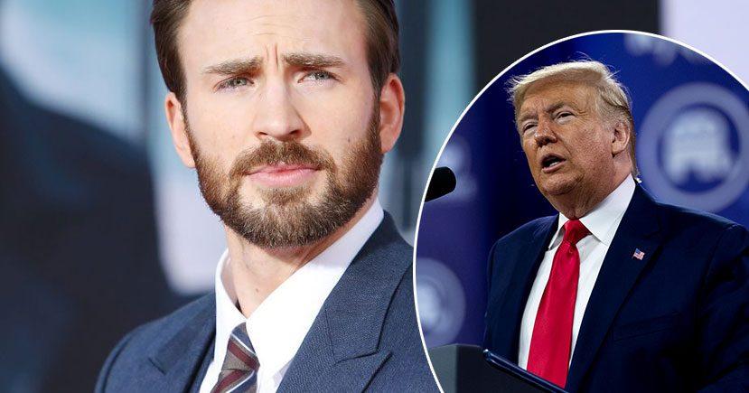 Captain America Star Chris Evans Criticize President Trump In A Tweet