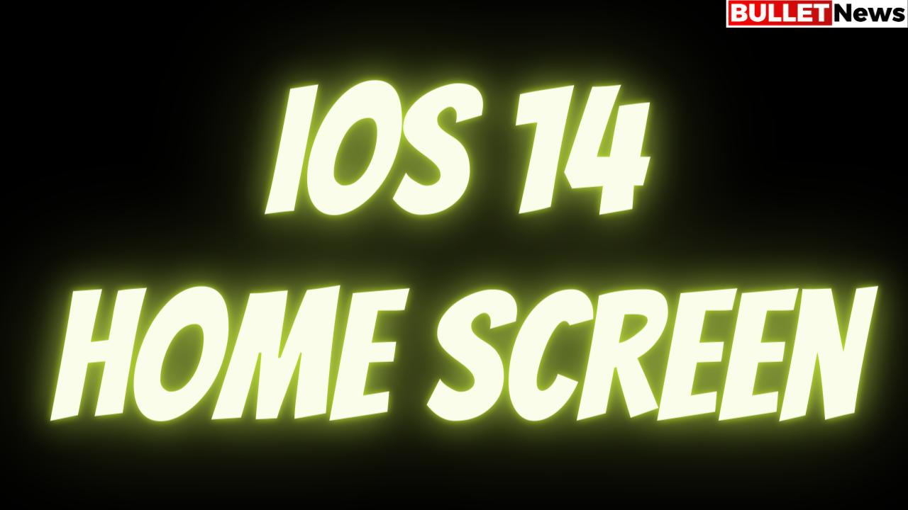 ios 14 Home Screen
