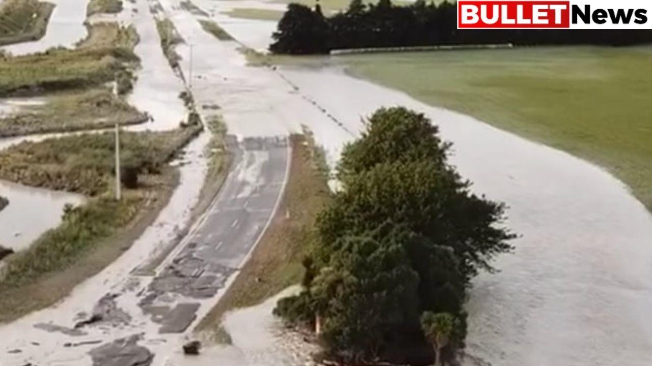 Massive flood in New Zealand