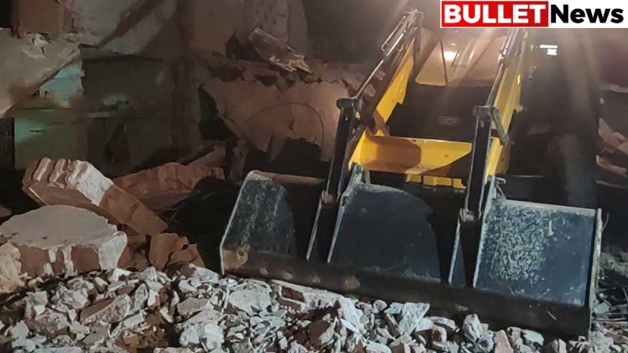 Cylinder blast in Gonda