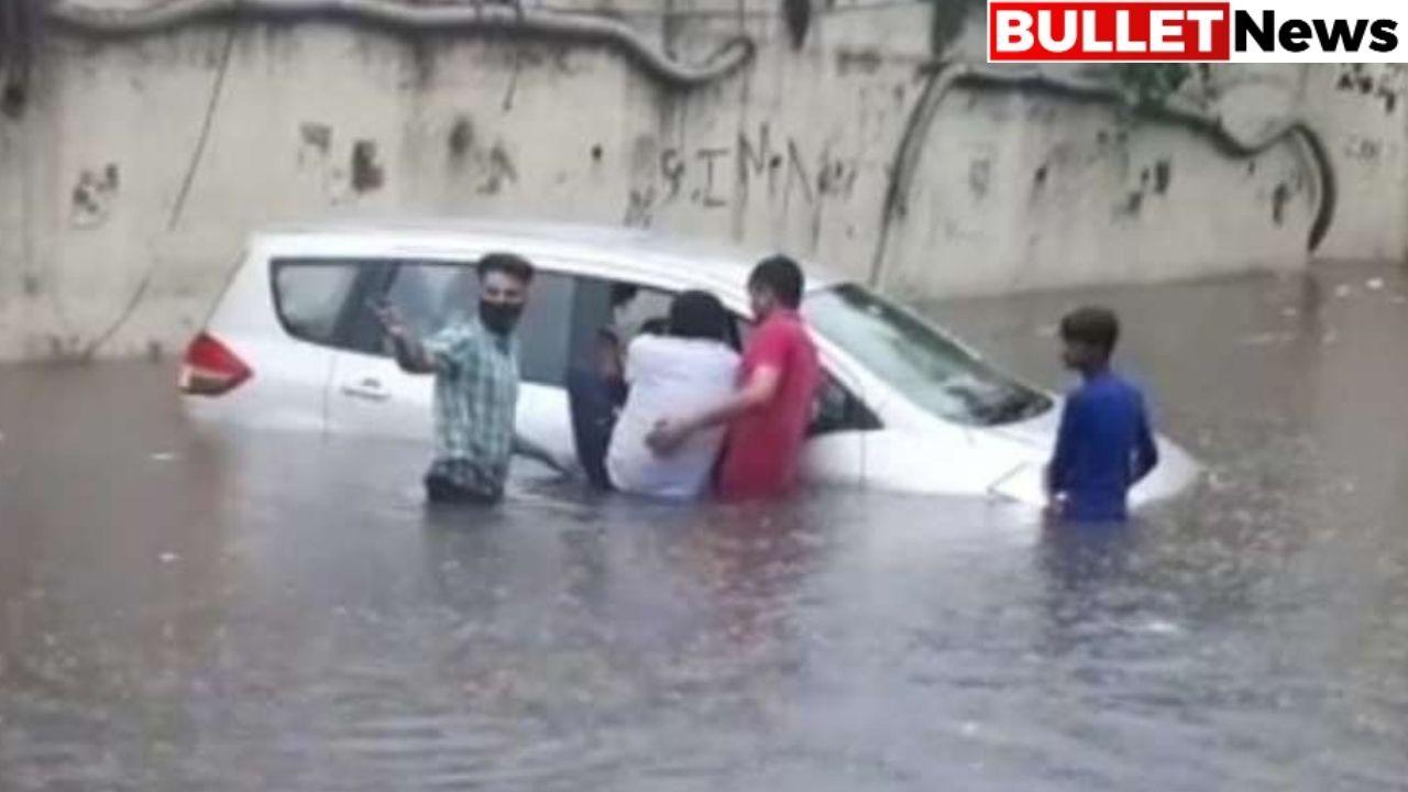 Delhi is submerged