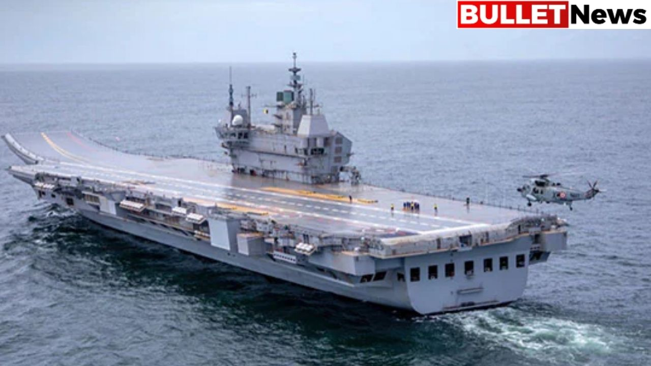 Airplane carrier for the first time made by India